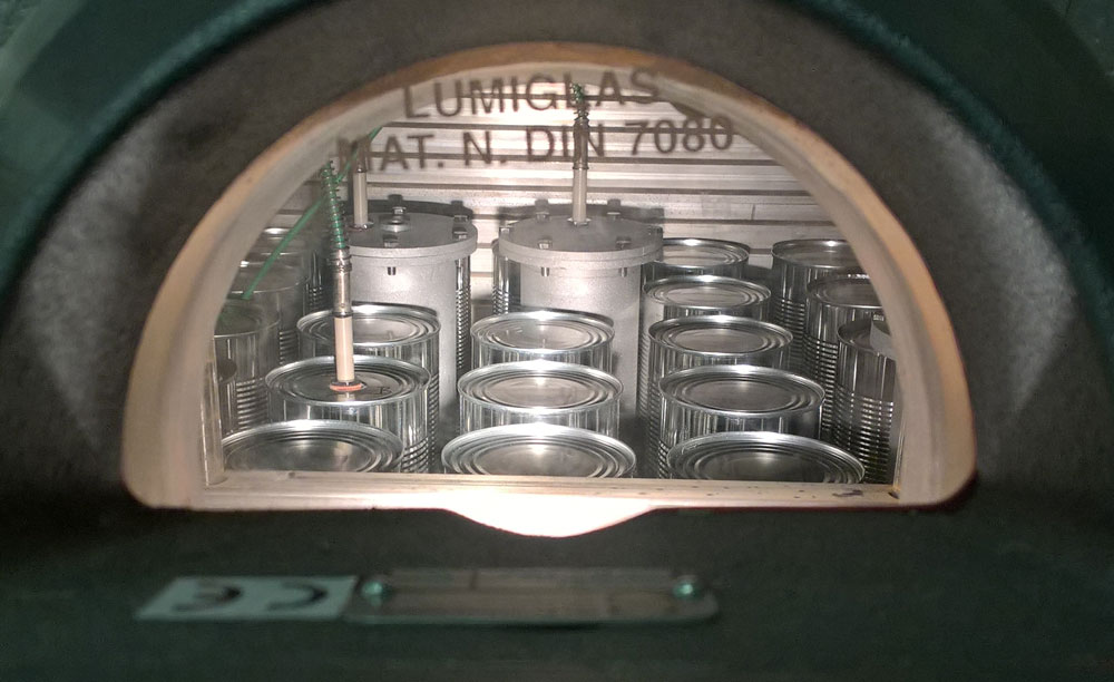 In toroid cans – metal cans with a hole in the middle – the canning process takes less time and preserves more nutrients of the canned food.