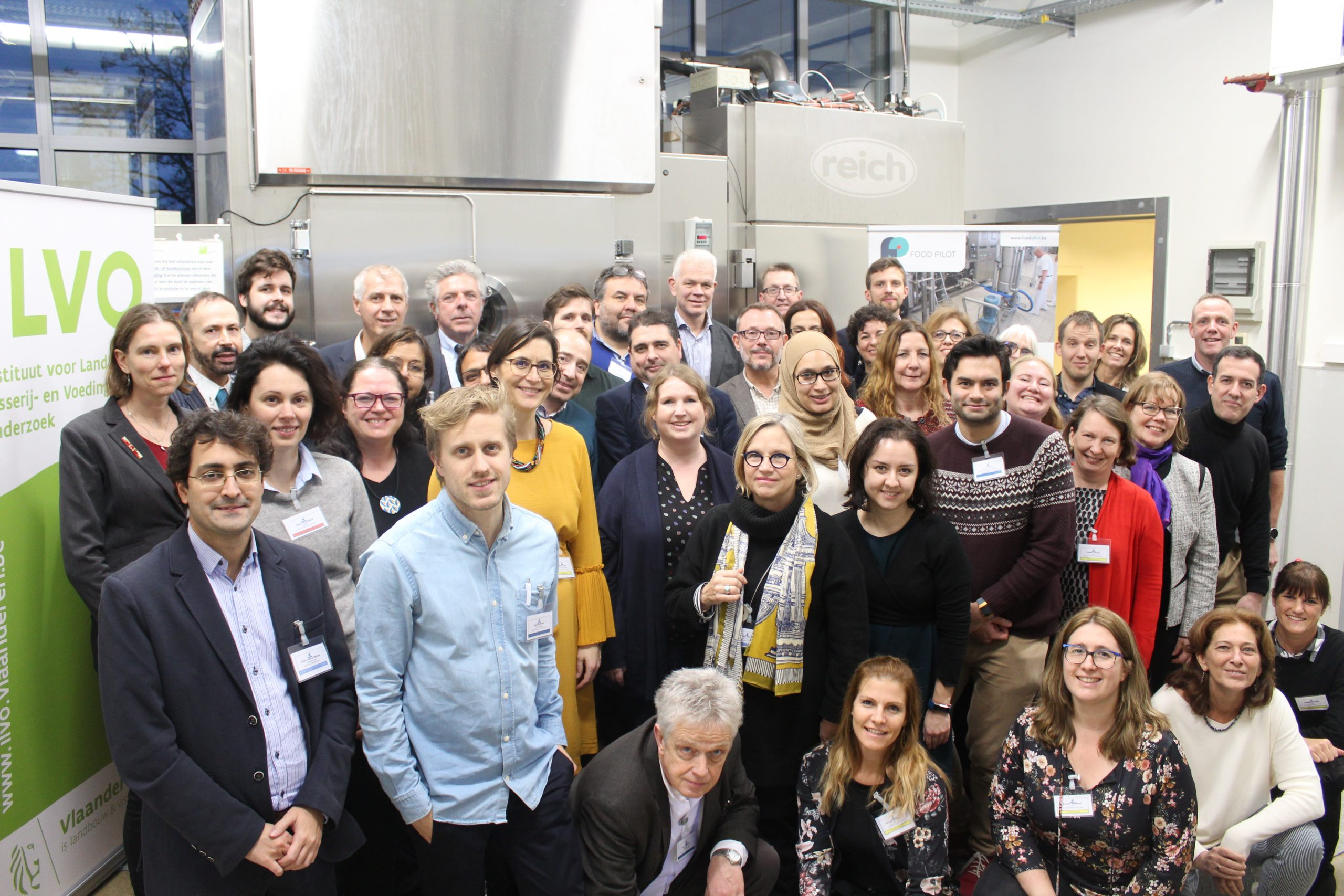 European researchers gathered for the Susfood2 midterm meeting in Gent, 2019.
